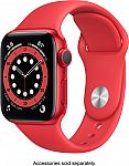 Apple Watch Series 6 (GPS) 40mm Red Aluminum Case $279