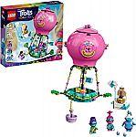 LEGO Trolls World Tour Poppy's Hot Air Balloon Adventure 41252 Building Kit (250-Pc) $17