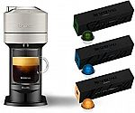 Nespresso Vertuo Next Coffee Machine + Capsule Set $99