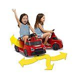 Radio Flyer DJ Dance & Spin 6V Dancing Car Ride-on $25 & More