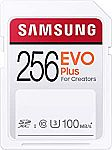 256GB SAMSUNG EVO Plus SDXC SD Card $25