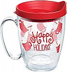 16-oz Tervis Happy Everything Insulated Tumbler Mug (Made in USA) $6.60