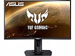 "ASUS TUF Gaming VG27WQ 27"" WQHD FreeSync HDR 400 Curved Gaming Monitor $290"