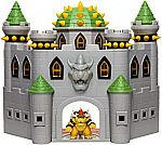 """Super Mario Nintendo Bowser's Castle Interactive Playset w/  Sounds & 2.5"""" Bowser $25 + Free Shipping"""