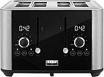 Bella Pro Series 4-Slice Digital Touchscreen Toaster $39.99