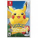 Pokmon: Let's Go, Pikachu! - Nintendo Switch $35