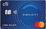 Citi Simplicity® Card - No Late Fees, No Penalty Rate, and No Annual Fee