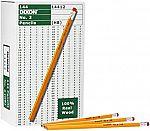 144-Ct Dixon #2 HB Soft Pencils $4.23