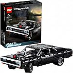 (Back) LEGO Technic Fast & Furious Dom's Dodge Charger 42111 Race Car (1077-Pc) $80