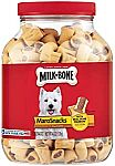 40-oz Milk-Bone MaroSnacks Dog Treats w/ Real Bone Marrow & Calcium $6.35