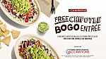 Chipotle - Buy one Get one Free Entree, July 6th from 3pm