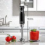 Russell Hobbs HB3100BKR Retro Style Immersion Blender $13.24