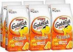 6-Pack 6.6-Oz Pepperidge Farm Goldfish Cheddar Crackers $5.58