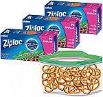 270-Count Ziploc Snack Bags $6.35