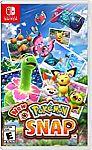 Best Buy - Nintendo Switch $45 Games Sale (New Pokémon Snap, More)
