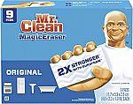 9-Ct Mr. Clean Magic Eraser Cleaning Pads w/ Durafoam (Original) $4.55