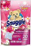 20-Ct Snuggle Exhilarations Wash Laundry Scent Booster (Island Hibiscus and Rainflower) $2.90