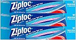 30-Ct Ziploc Two Gallon Food Storage Freezer Bags $9.50