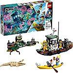 LEGO Hidden Side Wrecked Shrimp Boat 70419 Building Kit $20.99