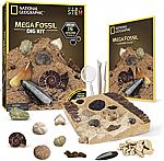 15-Fossil National Geographic Mega Fossil Dig Kit $12
