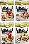 Triscuit Whole Grain Crackers 4 Flavor Variety Pack $8.20