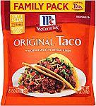 10-oz McCormick Taco Seasoning Mix $2 & More