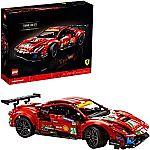 """LEGO Technic Ferrari 488 GTE """"AF Corse #51"""" 42125 Building Kit (1677-Pc) $150"""