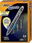 24-Count BIC Gel-ocity Original Retractable Gel Pen $5.55