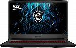 "MSI GF65 15.6"" 144hz Gaming Laptop (i5-10500H, RTX3060, 512GB SSD, 8GB) $849.99"