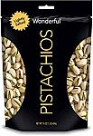 16-oz Wonderful Pistachios (Roasted &Salted or Lightly Salted) $5.69