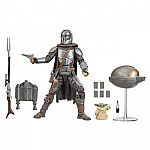 Star Wars The Black Series Din Djarin (The Mandalorian) and The Child $36.99