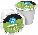 100 Ct. Happy Belly Decaf Light Roast Coffee Pods $18.11