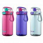 3-Count Zulu Flex Tritan Plastic 16oz Water Bottle Set $6.97+ FS