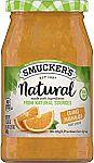 17.25-oz Smucker's Natural Fruit Spread (Orange Marmalade) $2.45