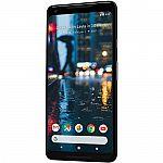 Google Pixel 2 XL 128GB Smartphone (Unlocked, Just Black) $130