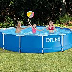 Intex 12-ft x 12-ft x 30-in Round Above-Ground Pool $159.99