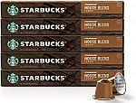 50-count Starbucks by Nespresso Capsules $22.51