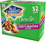 Blue Diamond 32-Ct 0.625-oz Whole Natural Raw Almonds $11.40
