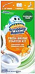 Scrubbing Bubbles Toilet Bowl Cleaning Kit (Wand + 4 Refills + 1 Stand) $5.69, 20-Ct Refills $5.75