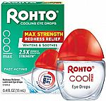 Rohto Maximum Redness Relief Cooling Eye Drops $3.99