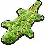 Frisco Flat Plush Squeaking Alligator Dog Toy $3.49