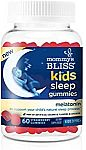 60-Ct Mommy's Bliss Kids Sleep Gummies with Melatonin (Ages 3+) $10.50