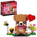 LEGO Merchandise Valentine's Bear 40379 $5