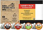 80-Count SF Bay OneCUP Coffee K-Cups $13.99 (YMMV)