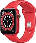 Apple Watch Series 6 44mm GPS, Red $295
