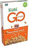 Kashi GO Breakfast Cereal (Peanut Butter Crunch) 13.2oz Box $2.39