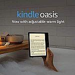 """Amazon Kindle Oasis E-Reader (2019) 7"""" 8GB $185"""