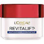 1.7-oz L'Oreal Paris Revitalift Anti-Aging Night Cream (2 for $12.78) & More