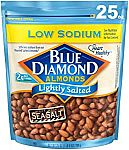25 Oz Blue Diamond Almonds Nuts Lightly Salted $7 and more