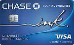 Ink Business Unlimited® Credit Card - Earn $750 Bonus Cash Back + No Annual Fee